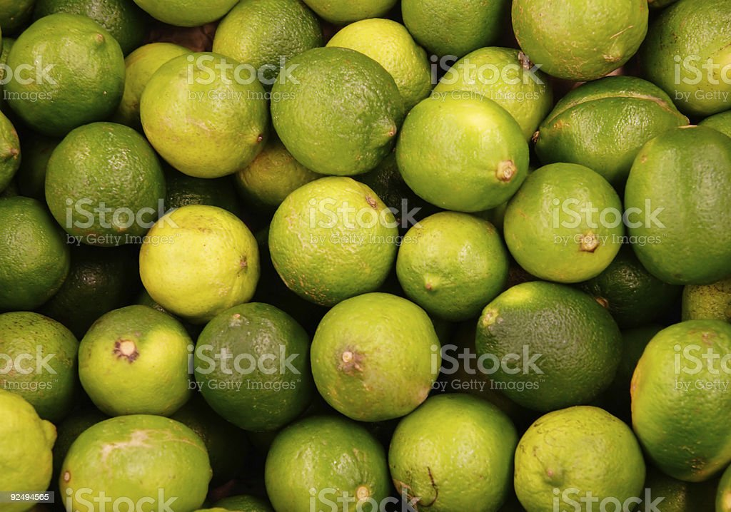 Green Limes royalty-free stock photo
