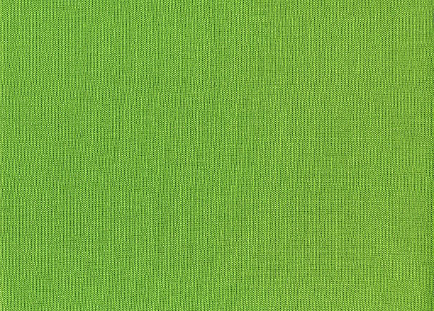 green linen cloth texture background - kelly green stock pictures, royalty-free photos & images