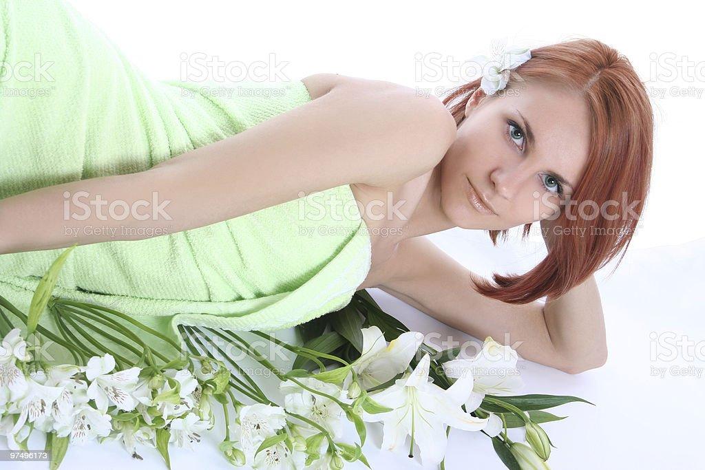 green look royalty-free stock photo