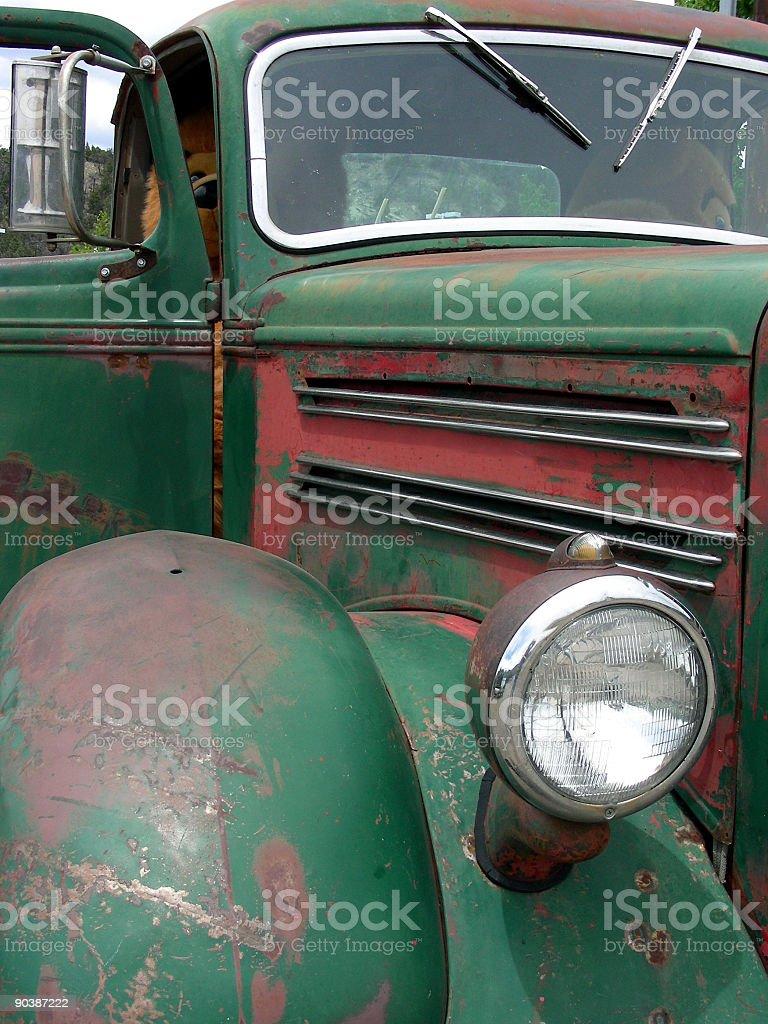 Green Mack stock photo