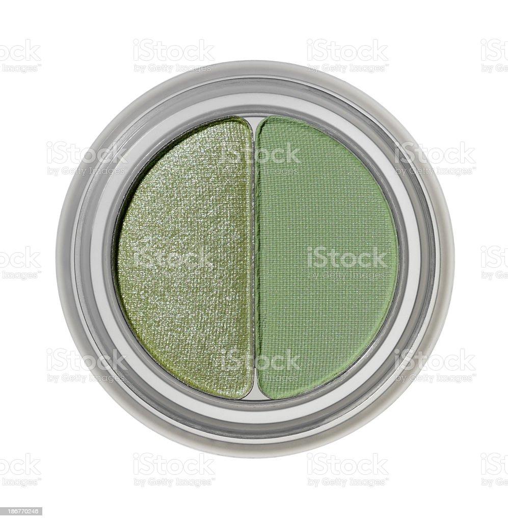 Green Makeup royalty-free stock photo