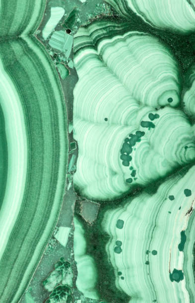 green malachite fine texture macro - malachit stock-fotos und bilder