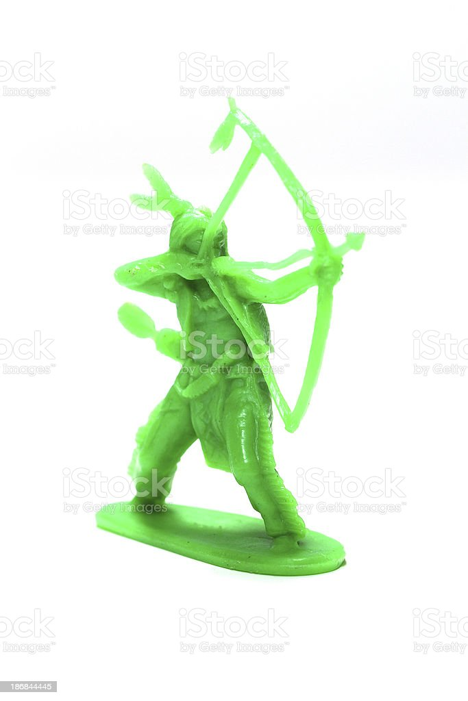 Green Man stock photo