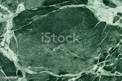 Close-up of green marble polished surface