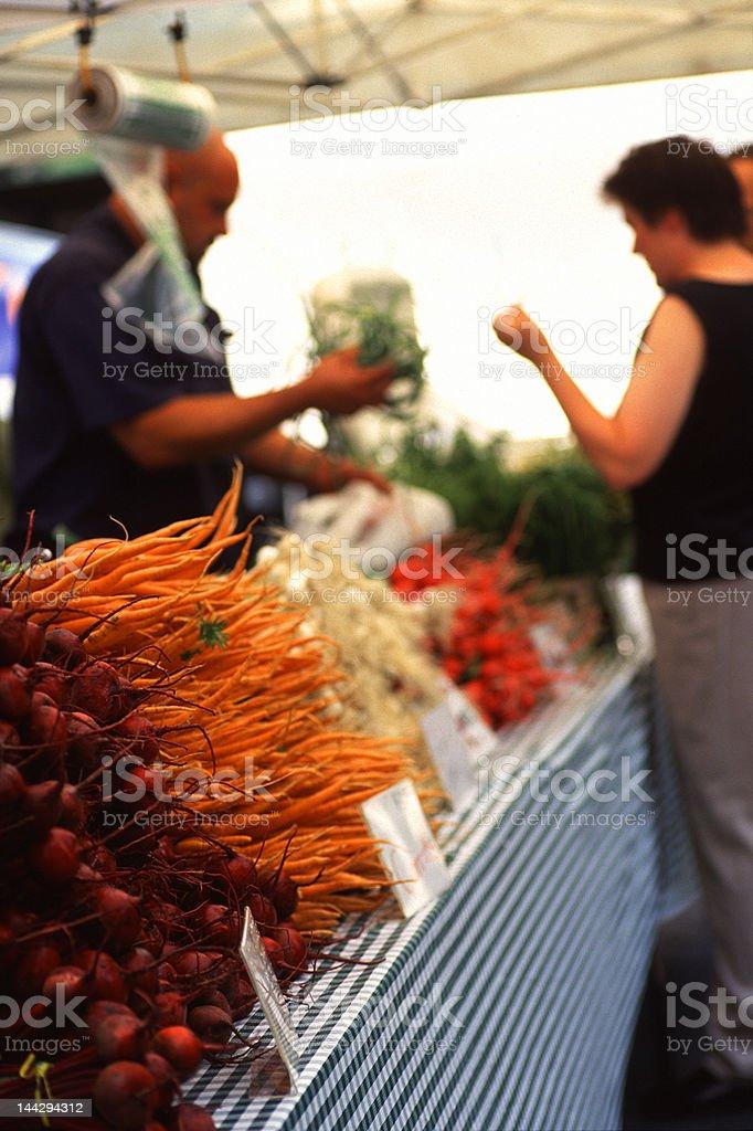 Green Market royalty-free stock photo