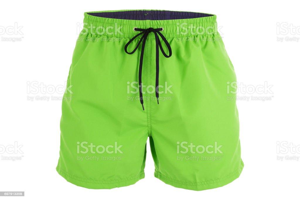 a556124adc Grüne Männer Shorts Zum Baden Stockfoto und mehr Bilder von ...