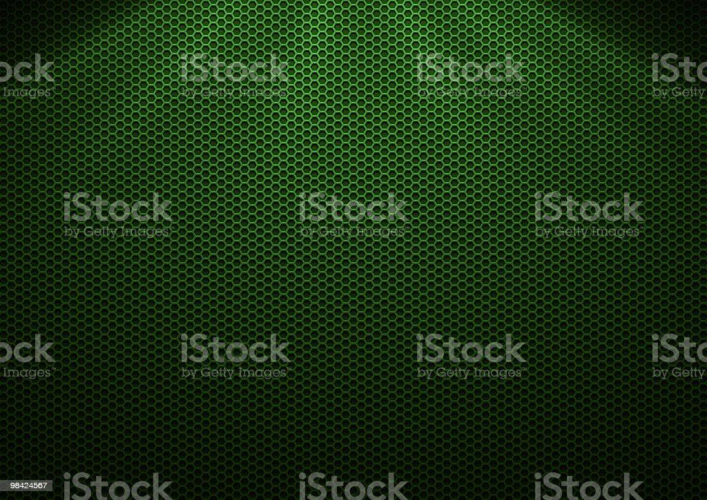 녹색 금속면의 도금부 royalty-free 스톡 사진