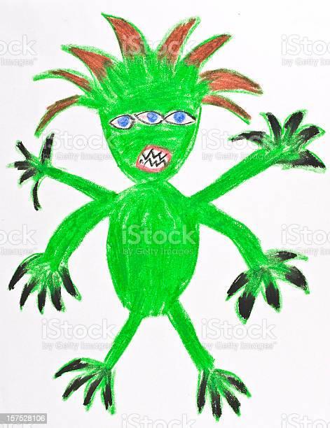Green monster drawing by child picture id157528106?b=1&k=6&m=157528106&s=612x612&h=uuqi 3kjivzjjkygqfane4550adn9ot7wweyfxzqlcy=