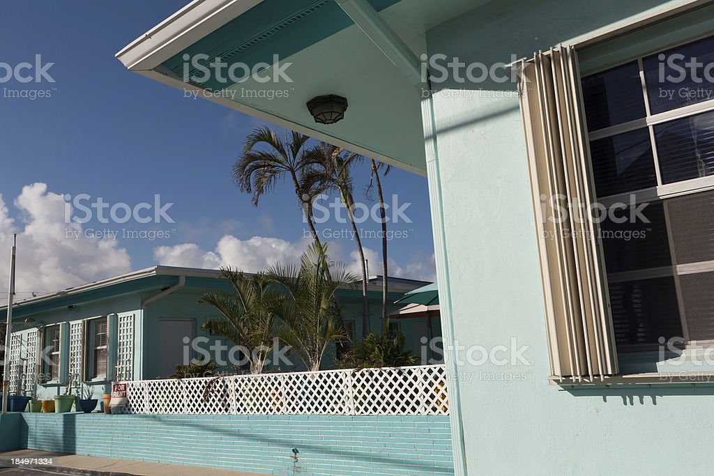 Green Motel royalty-free stock photo