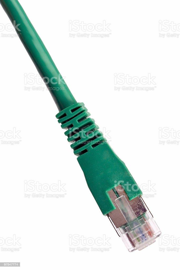 Vert connexion réseau photo libre de droits