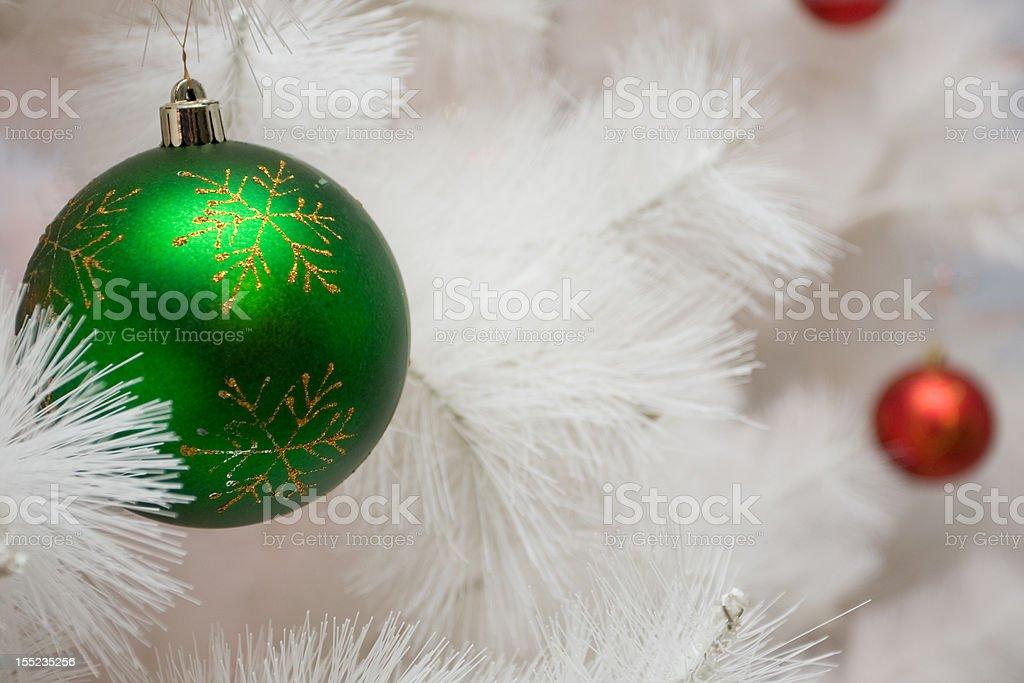 green new year ball royalty-free stock photo