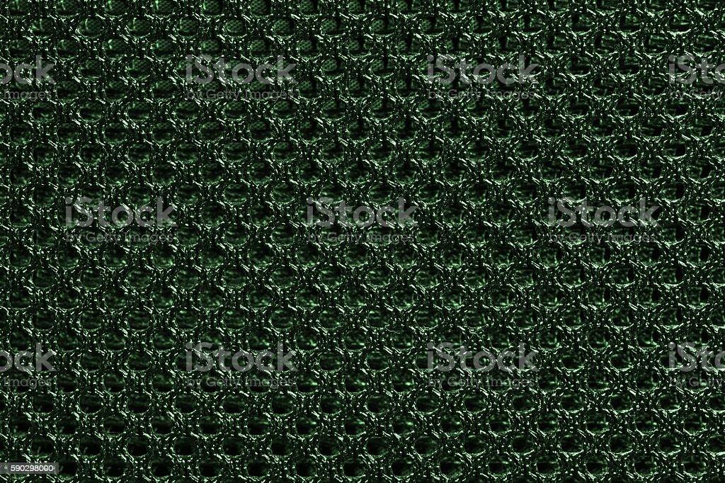 Green Nylon texture pattern or nylon background. royaltyfri bildbanksbilder