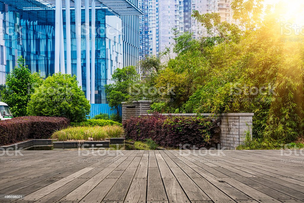 green of office area royalty-free stock photo