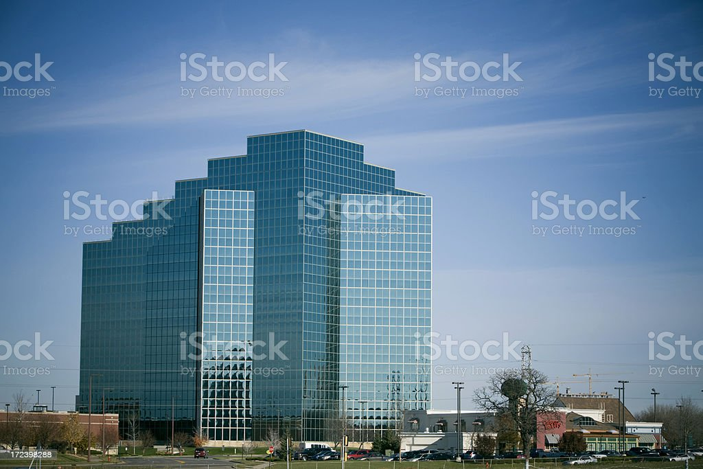 Green Office Building royalty-free stock photo