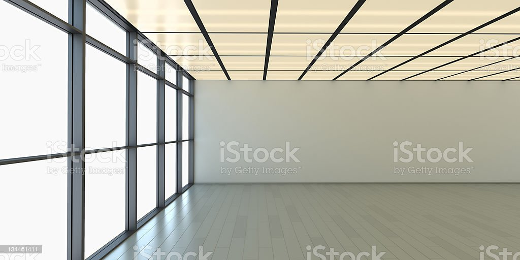 Green Office royalty-free stock photo