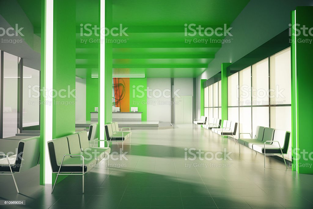 Green office waiting area – Foto