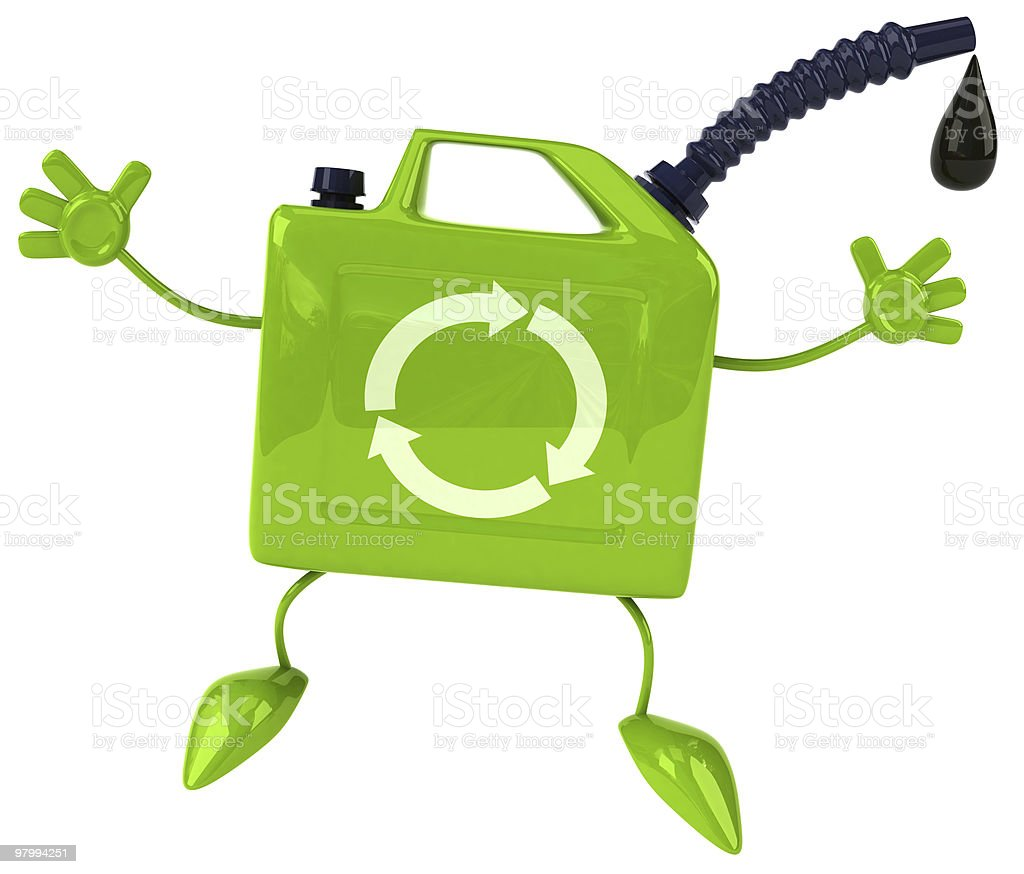 Green oil royalty free stockfoto