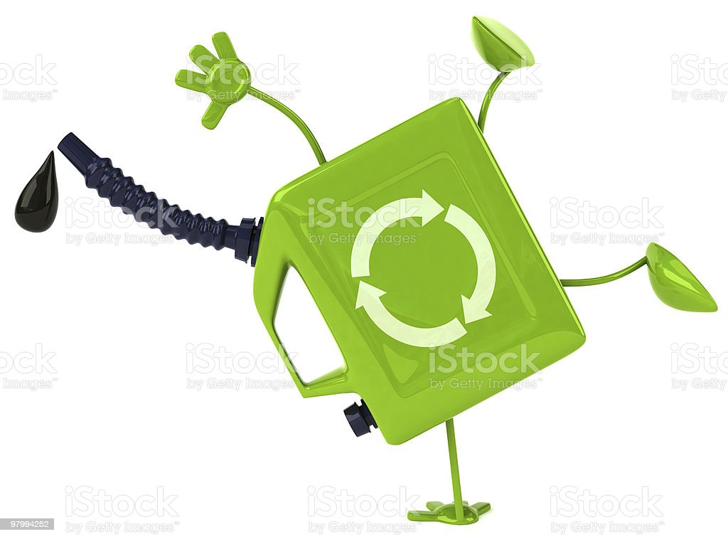 Green oil royalty-free stock photo
