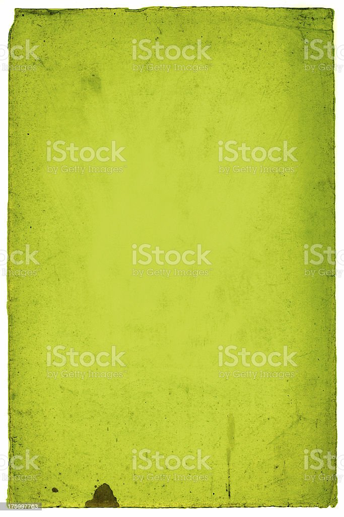 green old paper royalty-free stock photo