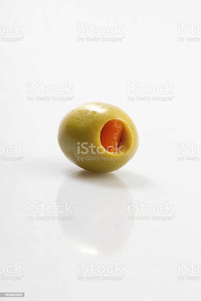 Green Olive royalty-free stock photo