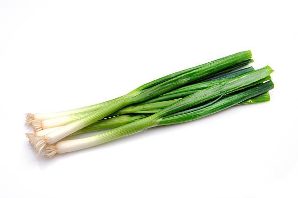 Green Onion stock photo