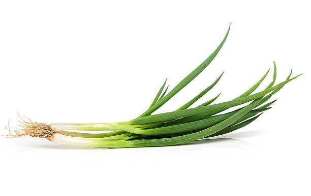 green onions - bosui stockfoto's en -beelden