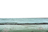 istock Green or blue aged weathered wooden table top 1042891794