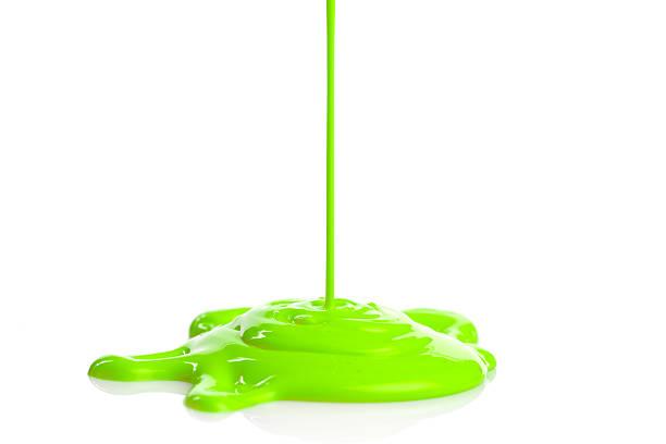 Pintura verde estrellas - foto de stock