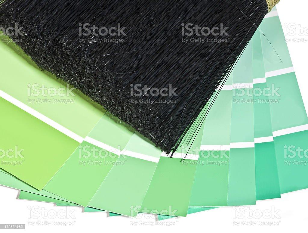 Pintura verde foto de stock libre de derechos