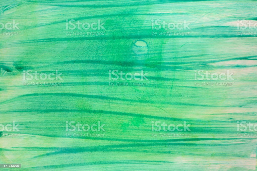 green painted background texture stock photo