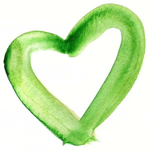 Green GEMALTES HERZ – Foto
