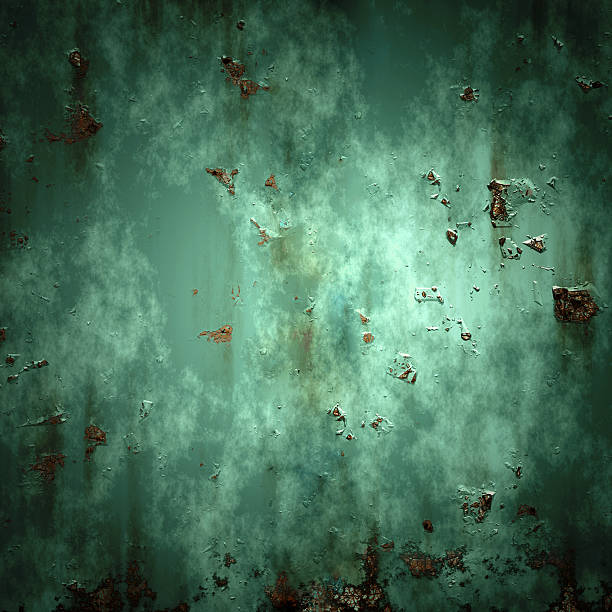 Textur Metall, Teller – Foto
