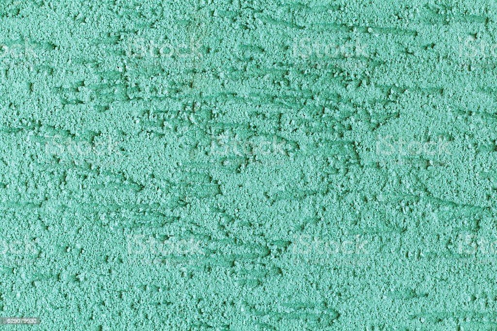 Green painted wall texture stock photo