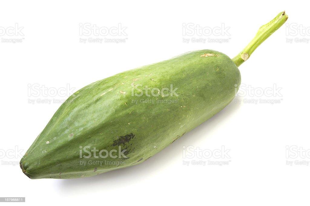 Green papaya. stock photo