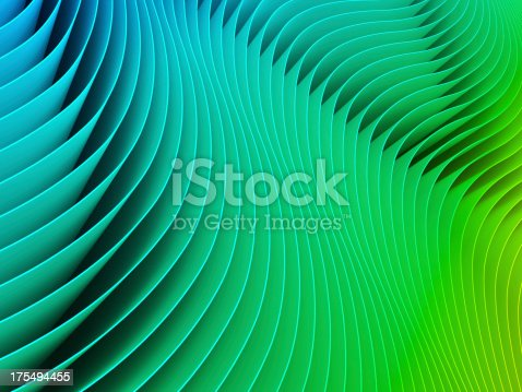 istock Green paper background 175494455
