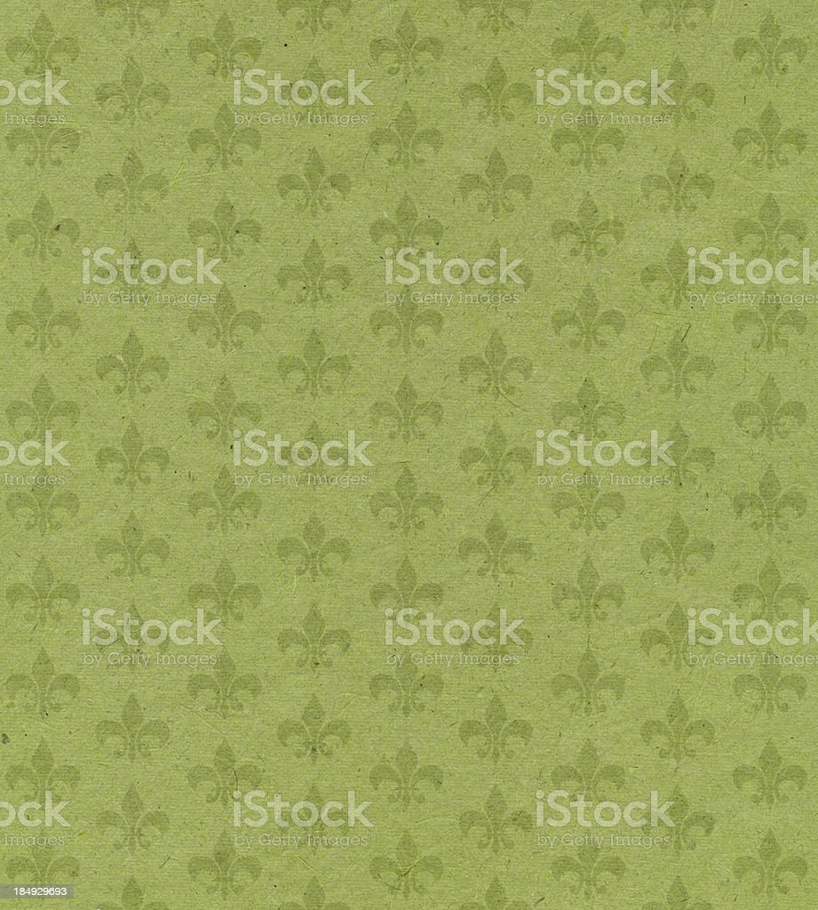 green paper with symbol royalty-free stock photo