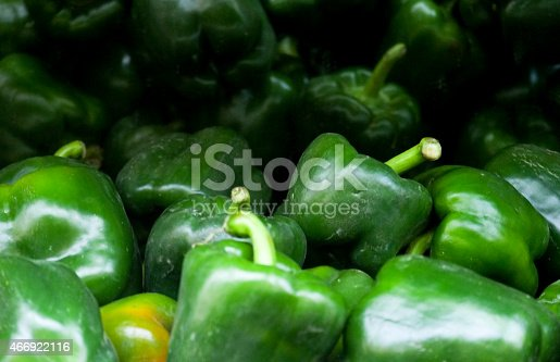 green spicy paprika