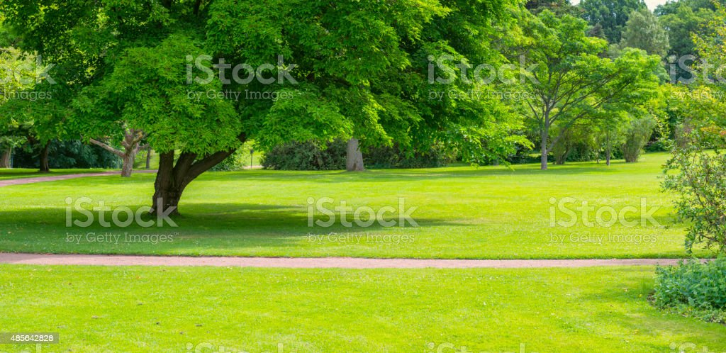Green Park panorama stock photo