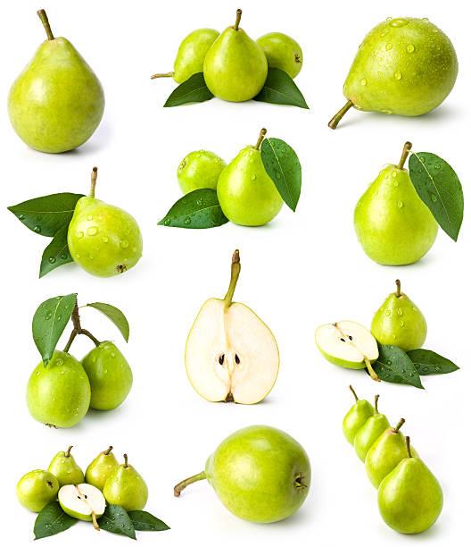 verde pears collezione - pera foto e immagini stock
