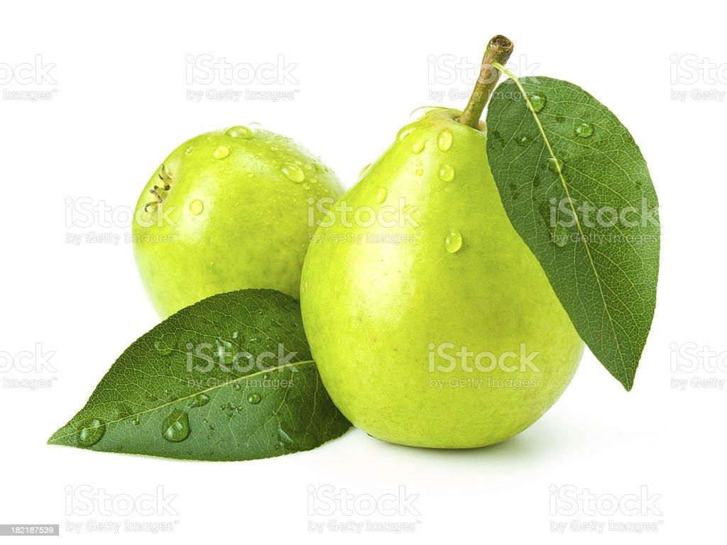 green pears stok fotoğrafı