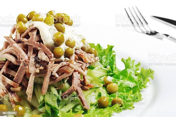 Foto de Ervilhas E Salada De Carne e mais fotos de stock de Almoço