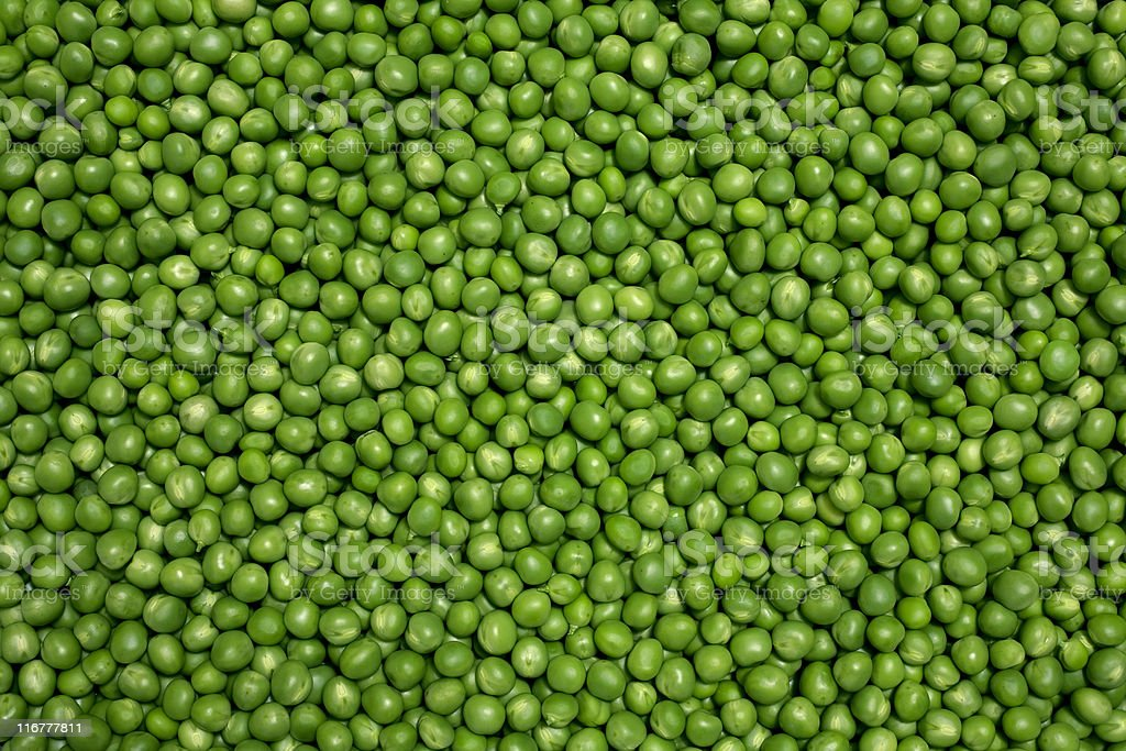 Green peas royalty-free stock photo