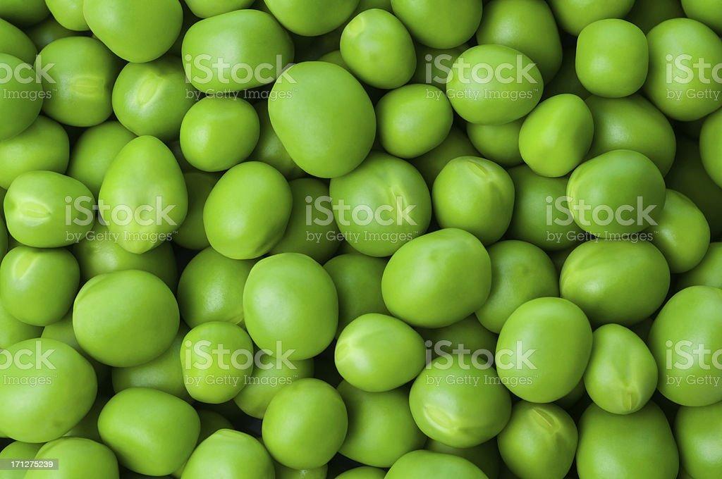 Green peas royalty-free stock photo