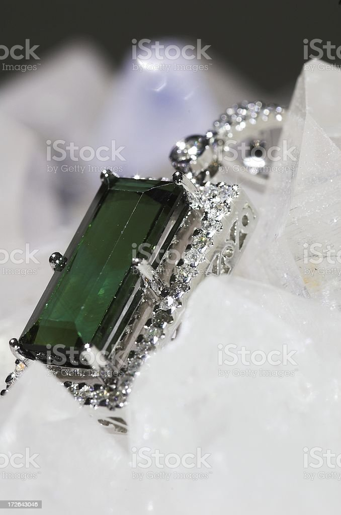green pendant royalty-free stock photo