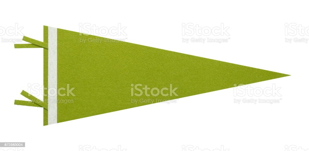 Green Pennant stock photo