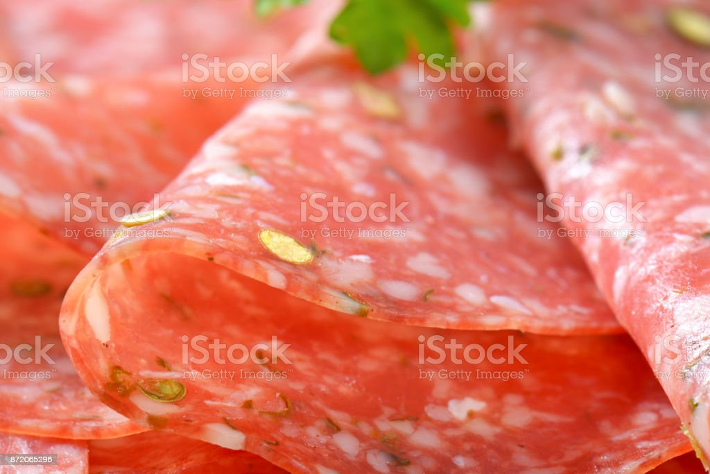 Grüne Paprika salami – Foto