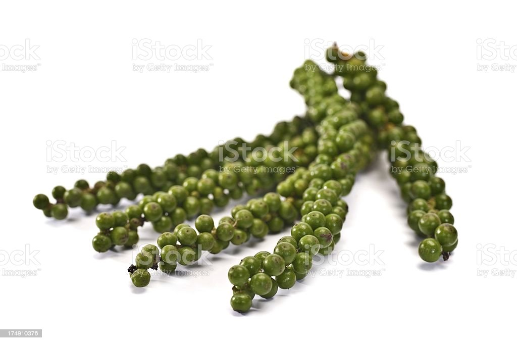 Green Peppercorns royalty-free stock photo