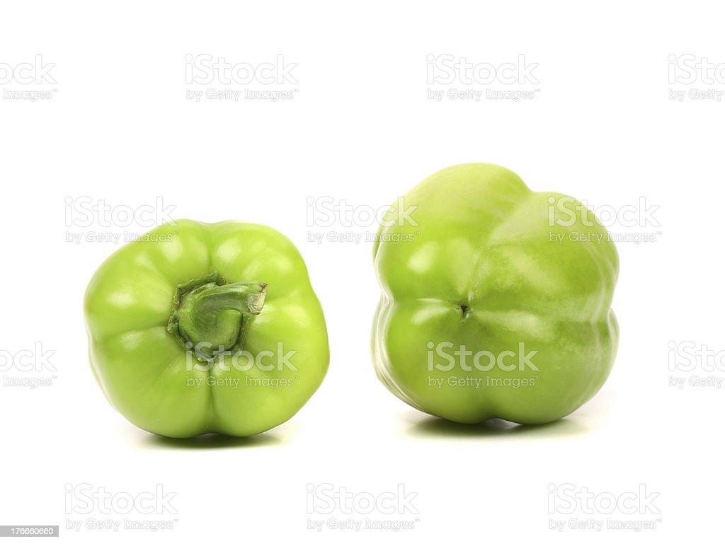 Pimientos verdes. foto de stock libre de derechos