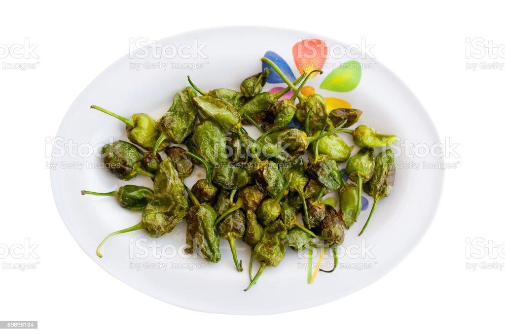 Grüne Paprika Lizenzfreies stock-foto