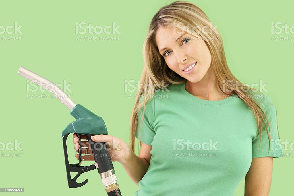 Green Petrol royalty-free stock photo
